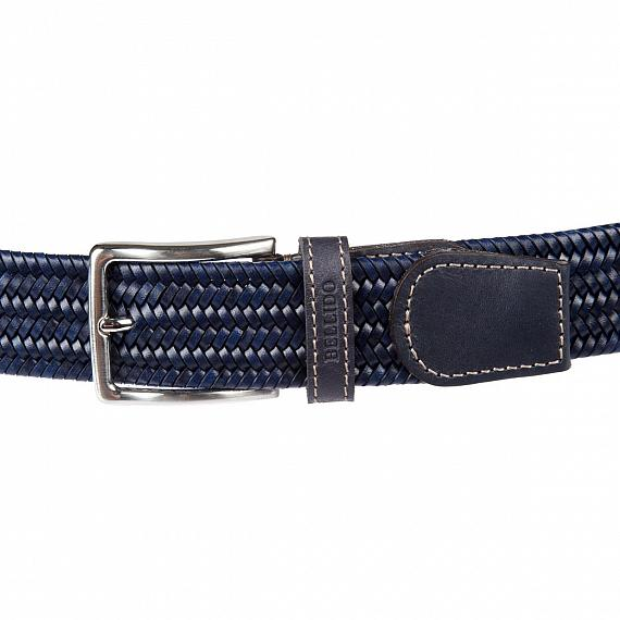 Ремень Miguel Bellido 935/35 2341/12 navy blue (фото 2)